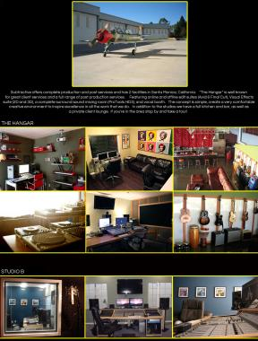 We provide a complete solution for video & audio production in our 2 Santa Monica, California based facilities.