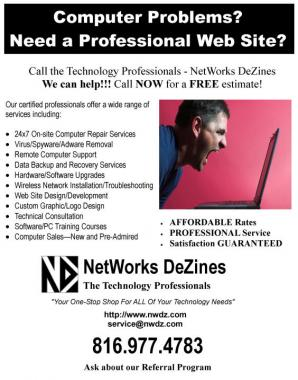 NetWorks DeZines - The Technology Professionals